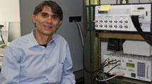 Ricardo García, en su laboratorio del CSIC.