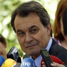 Arthur Mas, presidente de Generalitat de Cataluña.   Javier Barbancho