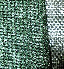 Material geotextil de fibras.