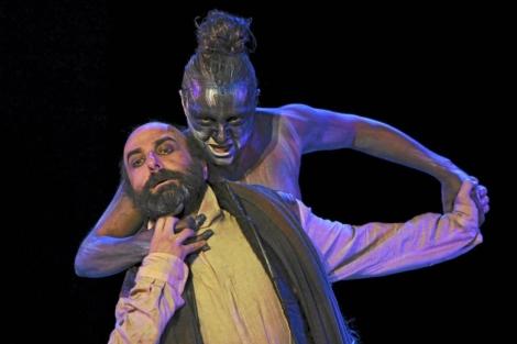 Blanca Portillo, en una representación de Antígona en el pasado Festival de Mérida. | Efe