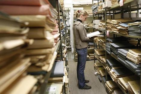 Uno de los archivos alemanes donde se buscará la reapertura de juicios a nazis. | Ap