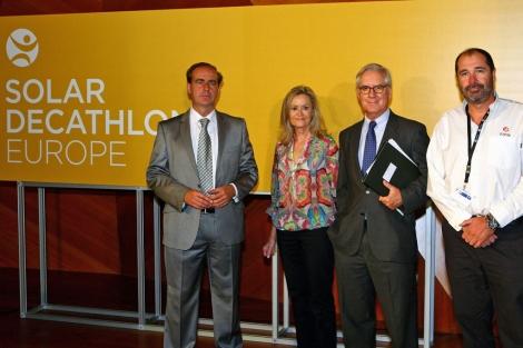 Los responsables e impulsores del SDE 2012. | ELMUNDO.es