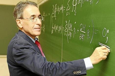 El científico matemático Jesús María Sanz Serna. | J.M. Lostau
