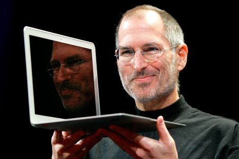 e9901a03d93 Steve Jobs, durante la presentación del MacBook Air en 2008. | AP