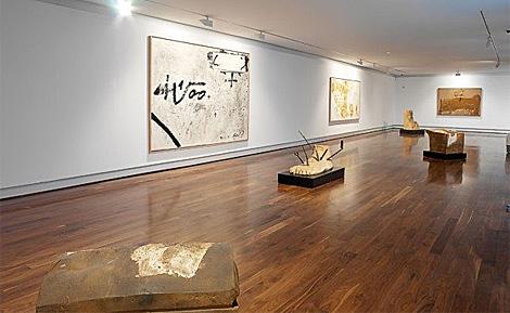 Sala de exposiciones de la sede de la Fundación en Ferrol. | NCG