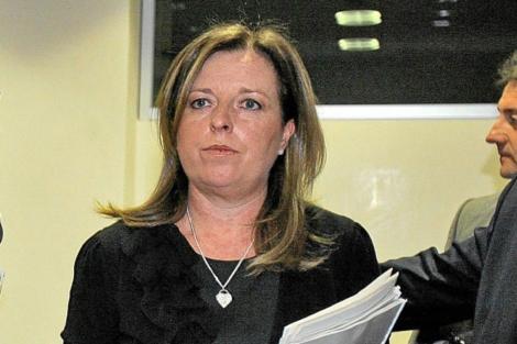 La ex directora general de CAM, María Dolores Amorós.   Ernesto Caparrós