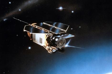 Recración del satélite Rosat.| German Aerospace Center