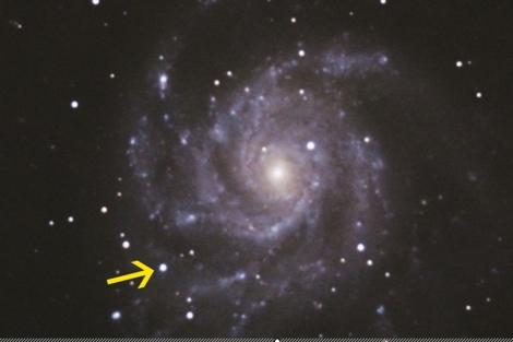 La supernova SN2011fe en la galaxia del Molinillo   Wordpress