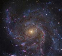 La galaxia del Molinillo observada por el Hubble.   NASA/ESA