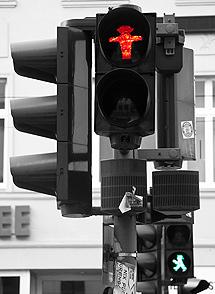 Semáforo berlinés. | G. M.