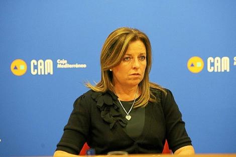 María Dolores Amorós, ex directora de la Caja de Ahorros del Mediterráneo. | Ernesto Caparrós