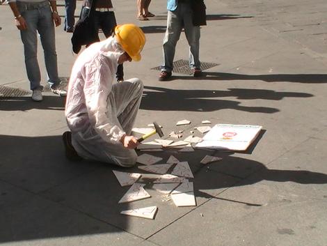 Imagen del acto reivindicativo de Madrid.   EL MUNDO