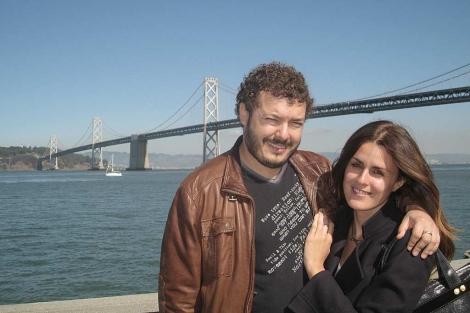 Miguel y su mujer, Flavia, en San Francisco. | M.D.