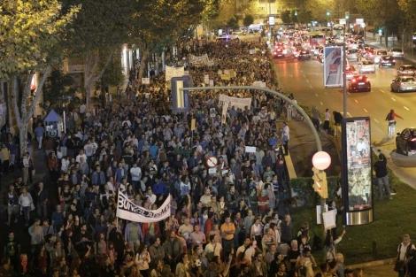 Imagen de una de las calles de Palma llena de gente. | Cati Cladera