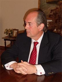 El presidente de la Gran Asociación, Fernando Musoles.   G.A.