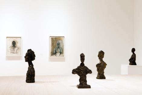 Algunas de las obras que estarán en el Museo Picasso hasta febrero de 2012. | ELMUNDO.es