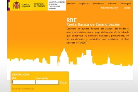 Portal de la ayuda de la RBE. | ELMUNDO.es
