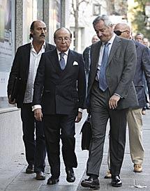 José María Ruiz-Mateos a su llegada a la Audiencia Nacional. | EL MUNDO