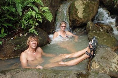 Stefan Ramin y Helke Dorsch en el Caribe. | E. M.