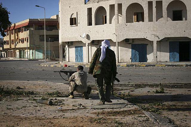 Imagen de Sirte, en Libia. | AP