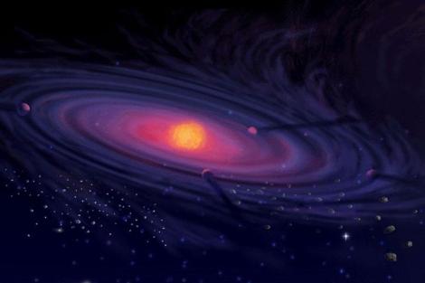 Recreación de un disco 'protoplanetario'.| EL MUNDO.es
