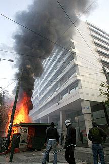 Incidentes en Atenas. | Efe