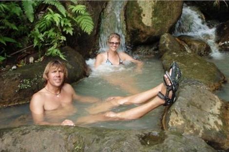 Stefan y Heike, durante sus vacaciones. | EL MUNDO
