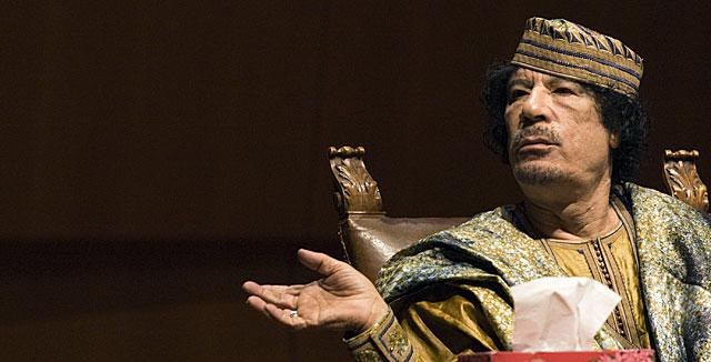 Gadafi, en 2009. | Reuters