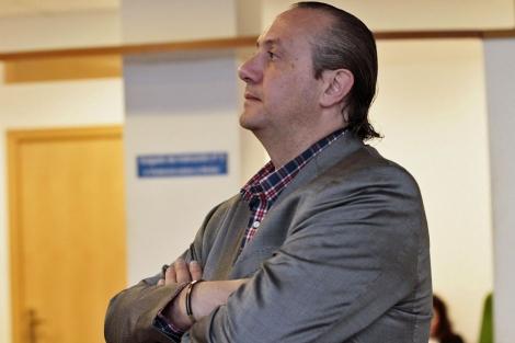 El empresario lucense Jorge Dorribo, en los jusgados lucenses.   Efe