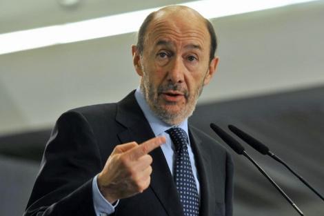 Alfredo Pérez Rubalcaba, candidato del PSOE a presidente del Gobierno. | Santi Cogolludo