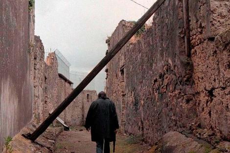 Imagen de archivo la ciudad de Pompeya.   Ap