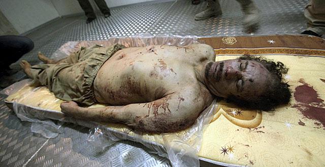 No Se Hará Autopsia A Gadafi