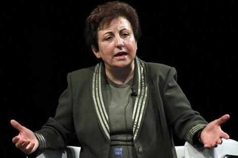 Shirin Ebadi, Premio Nobel de la Paz, en econgreso Mentes Brillantes.| Efe