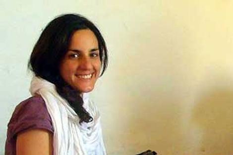 La cooperante Ainhoa Fernández, secuestrada en el campamento de Rabuni.