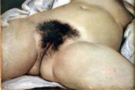 La obra de Courbet, origen de la polémica