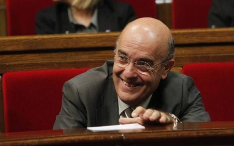 El conseller de Salut, Boi Ruiz, en el Parlament | Domènec Umbert
