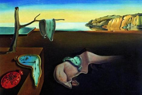 'La persistencia de la Memoria', de Salvador Dalí