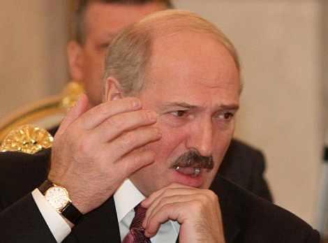 Alexander Lukashenko, en una reunión. | Ap