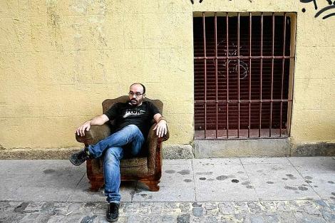 Alberto Olmos, fotografiado por Luna Miguel.