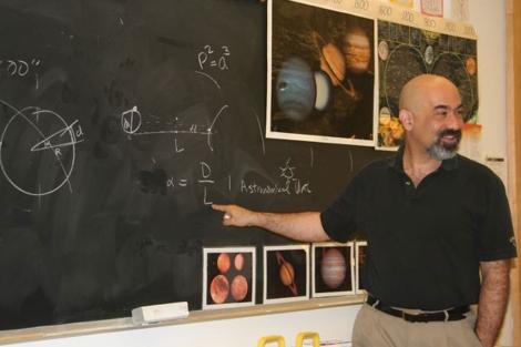 El astrofísico de la NASA David Spergel. | Fundación BBVA