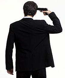 Imagen de un suicida