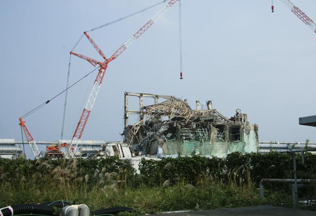 El dañado reactor 3 de Fukushima. | Reuters
