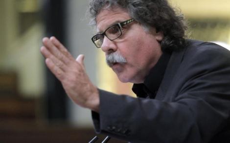 Tardà, durante una de sus intervenciones en el Congreso. | Antonio Heredia