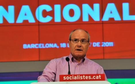 Montilla, en el consell nacional del PSC. | Santi Cogolludo