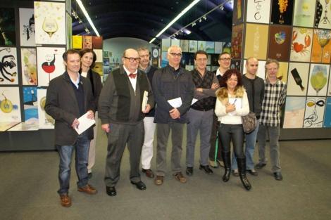 Los miembros del jurado del premio de diseño. | A.G.