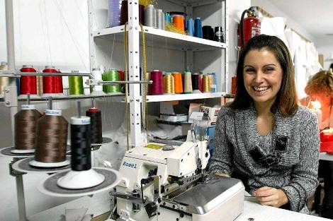 La diseñadora abulense afincada en Valladolid. | Ical