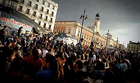 'La plaza tomada' de Pedro Armestre, sobre el movimiento 15-M.