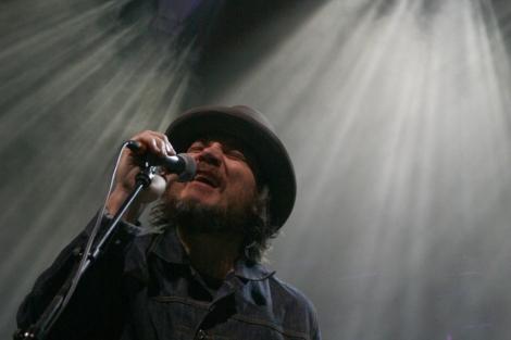 Jeff Tweedy, cantante de Wilco, durante su concierto en Madrid. | HeinekenPro / Carla Mir