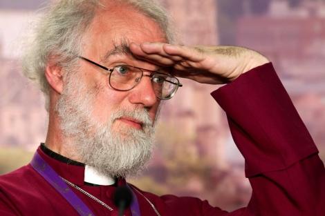 El arzobispo de Canterbury, Rowan Williams en Londres. | Reuters