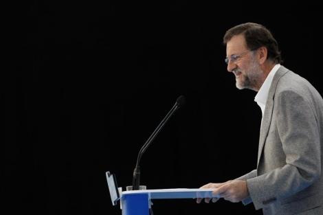 El candidato 'popular' a la presidencia del Gobierno, Mariano Rajoy. | Diego Crespo